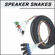 audio speaker snakes multi conductor speak on