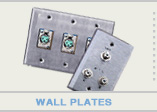 Audio XLR Wall Plates