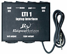 LTI Blox laptop iPod interface