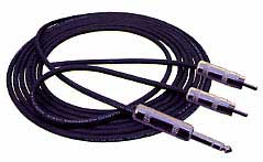 Y insert audio patch cables